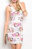 Nylon Apparel Ivory Floral Dress