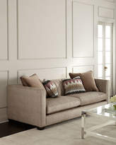 Bernhardt Hank Channel-Tufted Sofa