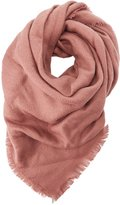 Charlotte Russe Fringed Woven Scarf