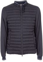 Herno Padded Panel Zipped Jacket