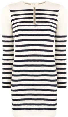 Céline Pre-Owned Pre-Owned Striped Knitted Dress