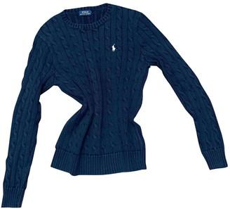 Polo Ralph Lauren Blue Cotton Knitwear for Women