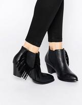 Park Lane Tassel Ankle Boots