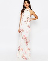 Jarlo Caden High Neck Maxi Dress