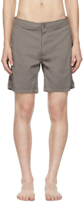 Onia Grey Calder Swim Shorts