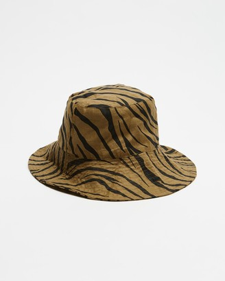 Faithfull The Brand Women's Brown Hats - Bettina Bucket Hat - Size One Size at The Iconic