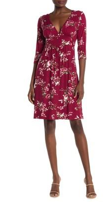 Loveappella Floral Midi Dress