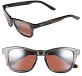 Maui Jim Women's Ka'A Point 51Mm Polarizedplus2 Sunglasses - Blue/ Neutral Grey