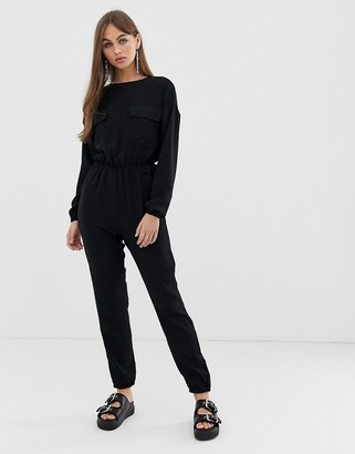 Noisy May utility pocket jumpsuit