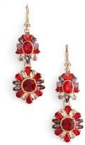 Marchesa Women's Double Drop Earrings