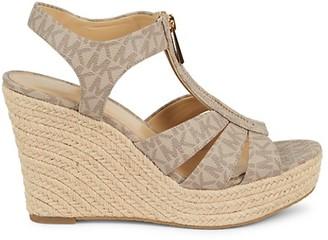 MICHAEL Michael Kors Berkley Espadrille Wedge Sandals