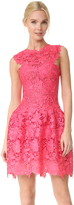 Monique Lhuillier Structured Dress