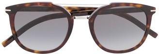 Christian Dior Black Tie soft-round sunglasses