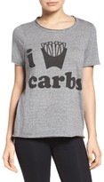 Chaser Women's I Love Carbs Tee