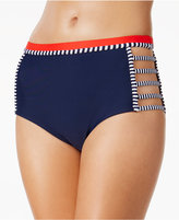 Tommy Hilfiger Strappy High-Waist Bikini Bottoms