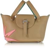 Meli-Melo Light Tan Wonderplant Thela Mini Cross Body Bag