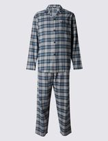 Marks and Spencer Brushed Cotton Stay Soft Pyjamas