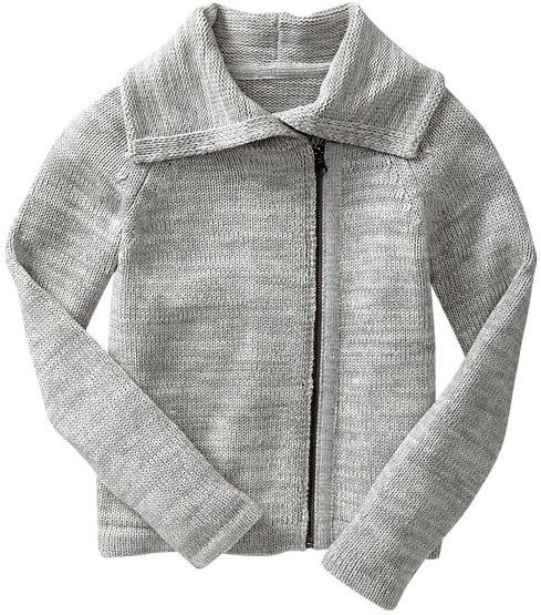 Gap Moto sweater jacket