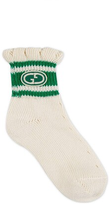 Gucci Children's Interlocking G cotton socks
