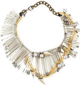 Assad Mounser Crystal Spike Necklace