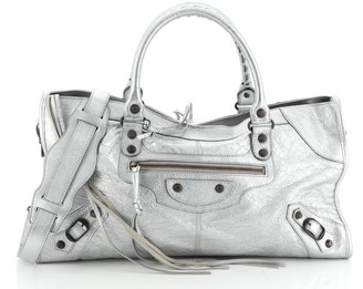 Balenciaga Part Time Classic Studs Bag Leather