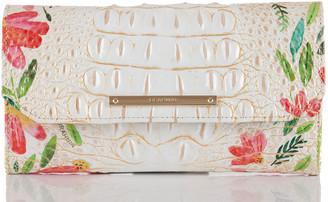 Brahmin Soft Checkbook Wallet Multi Herring