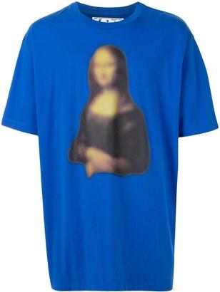 Off-White Mona Lisa-print T-shirt