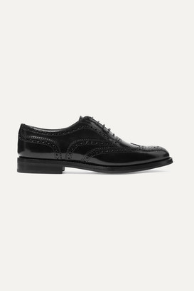 Church's Burwood Glossed-leather Brogues - Black