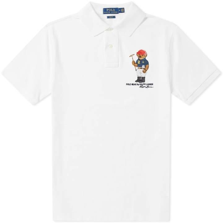 84fa5c7a Ralph Lauren Mens Bear T Shirt - ShopStyle