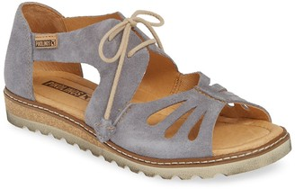 PIKOLINOS Alcudia Suede Lace-Up Sandal