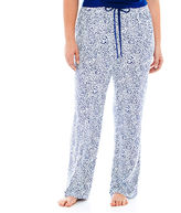 Liz Claiborne Knit Sleep Pants - Plus