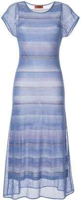 Missoni long knitted dress