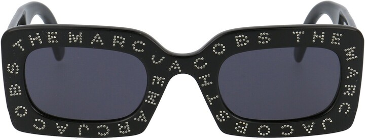 Thumbnail for your product : Marc Jacobs Logo Embellished Sunglasses