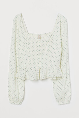 H&M Patterned Blouse