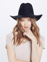 Mother Janessa Leoné - Sean Wide Brim Fedora - Black