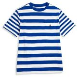 Ralph Lauren Toddlers, Little Boys and Boys Striped Slub Jersey Crewneck Tee
