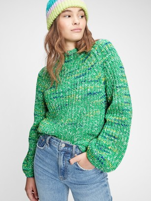 Gap Marled Turtleneck Sweater