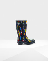 Original Kids Buoy Print Boots
