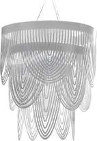 Slamp Ceremony Pendant - Small: 21.75 in diameter / White