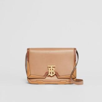 Burberry Medium Applique Leather TB Bag