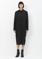 Jil Sander black caramel dress