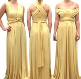 4Now Fashions Long Infinity, Convertible or Multiway Dress that can be worn in 100 Ways