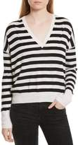 Rag & Bone Women's Bevan Stripe Wool Sweater