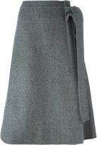 Rochas a-line skirt - women - Silk/Virgin Wool - 42
