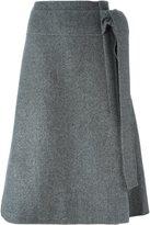 Rochas a-line skirt - women - Virgin Wool/Silk - 40