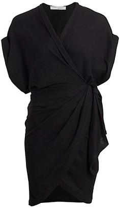 IRO Gidya Mini Wrap Dress