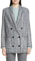 St. John Ribbon Textured Inlay Knit Jacket