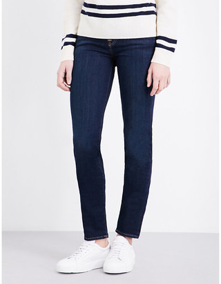 7 For All Mankind Women's Bairinind Roxanne Skinny Mid-Rise Jeans, Size: 23