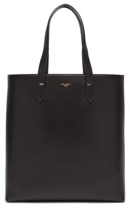 Dolce & Gabbana Mediterraneo Leather Tote Bag - Mens - Black