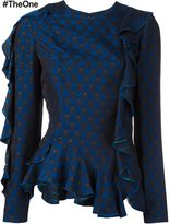 Lanvin rear cut out jumper - women - Polyester/Viscose - 38